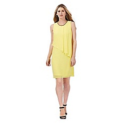 The Collection - Yellow layered chiffon dress