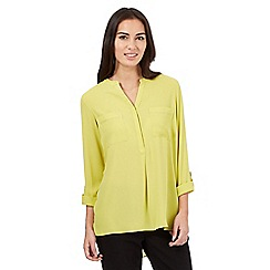 The Collection - Lime cut out trim shirt