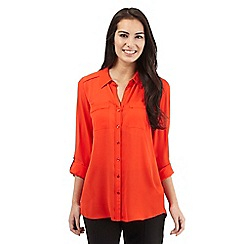 The Collection - Orange button shirt