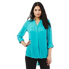The Collection - Turquoise two pocket shirt