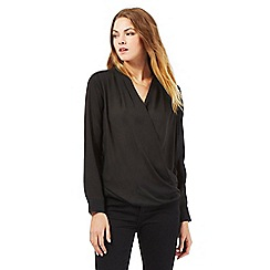The Collection - Black wrap top