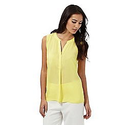 The Collection - Yellow open front top
