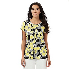 The Collection Petite - Multi-coloured floral print top