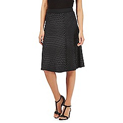 The Collection - Black spotted skirt