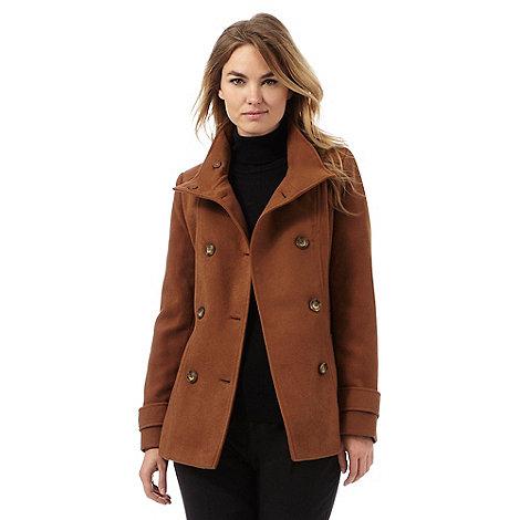 The Collection Brown Reefer Jacket | Debenhams