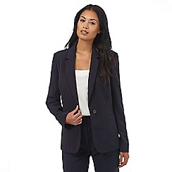 The Collection - Navy tailored suit jacket