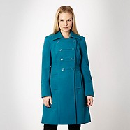 Ladies Blue Coat - Debenhams