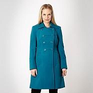 Ladies Blue Coat - Debenhams