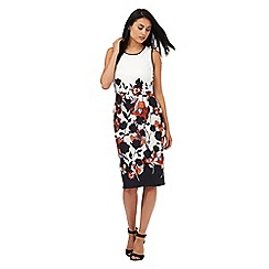 The Collection - White floral print dress