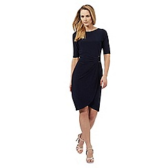 The Collection - Navy gathered dress
