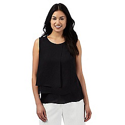 The Collection Petite - Black layered top