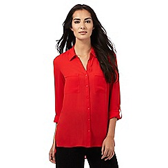 The Collection - Red pocket shirt