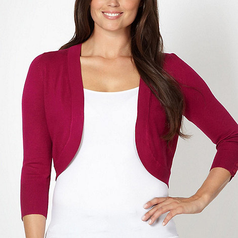 The Collection - Dark pink shrug