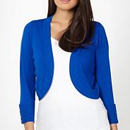 Royal blue shrug