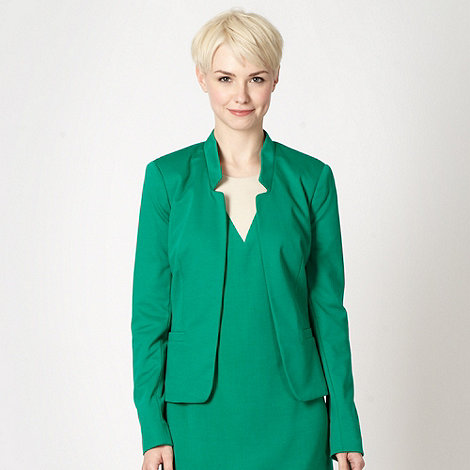 The Collection Petite - Petite green edge to edge jacket