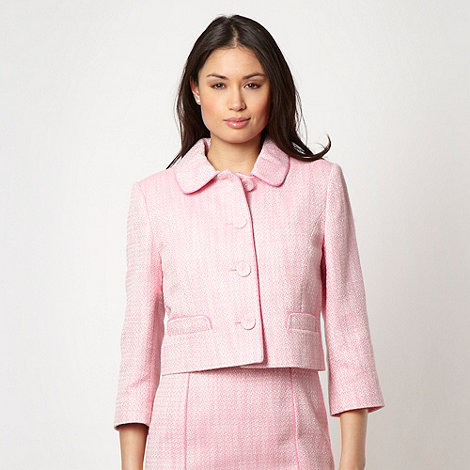 The Collection - Online exclusive - Pink textured jacket