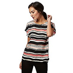 The Collection - Pink striped print top