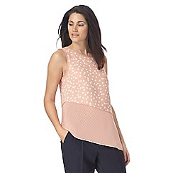 The Collection - Pale pink spotted top