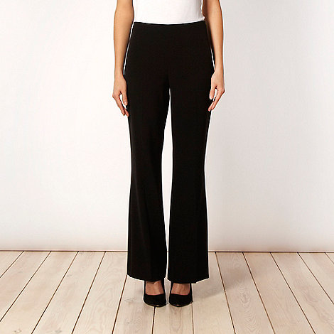 The Collection - Black side zip trousers