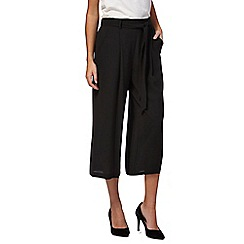 The Collection - Black culotte trousers