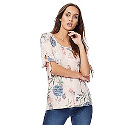 The Collection - Pink floral print top
