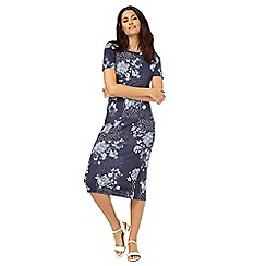 The Collection - Blue floral print dress