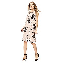 The Collection - Light pink floral print dress