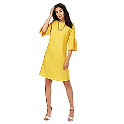 The Collection - Dark yellow shift dress