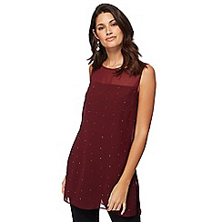 The Collection - Wine red hot fix tunic