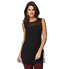 The Collection - Black hot fix tunic
