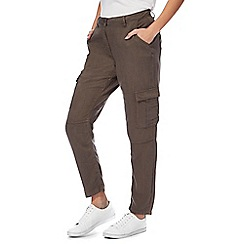 The Collection - Khaki cargo trousers
