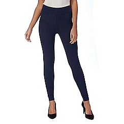 The Collection - Navy full length leggings