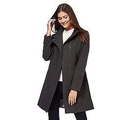 The Collection - Grey biker coat