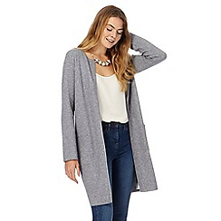 The Collection - Grey longline cardigan