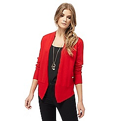 The Collection - Red military cardigan