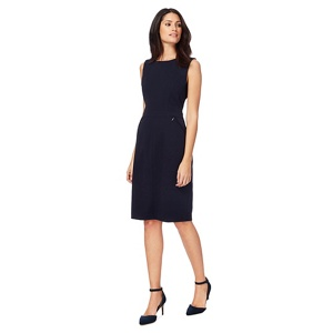 The Collection Navy knee length shift dress