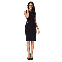 The Collection Petite - Black knee length shift dress