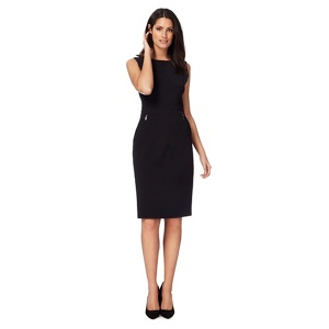 The Collection Black knee length shift dress