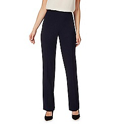 The Collection - Navy straight leg trousers