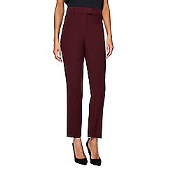 The Collection - Dark purple slim leg trousers