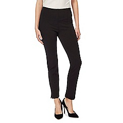 The Collection - Black slim leg ponte trousers
