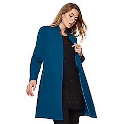The Collection - Turquoise workwear manteau coat