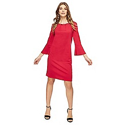 The Collection - Bright pink knee length shift dress