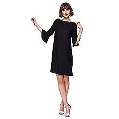 The Collection - Black knee length shift dress