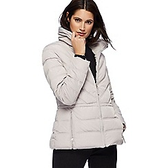 The Collection - Silver quilted jacket