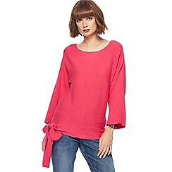 The Collection - Pink side tie jumper