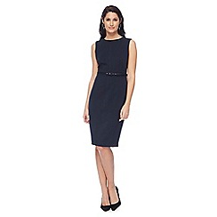 The Collection - Navy knee length pencil dress