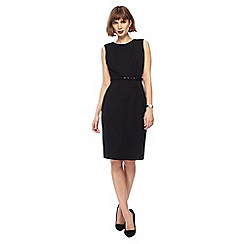 The Collection - Black knee length pencil dress