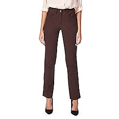 The Collection - Brown straight leg jeans