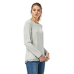 The Collection - Light green striped top